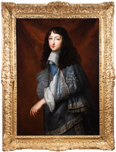 "Portrait of Philippe d'Orléans known as ""Monsieur"". Jean Nocret & workshop (1615-1672)"