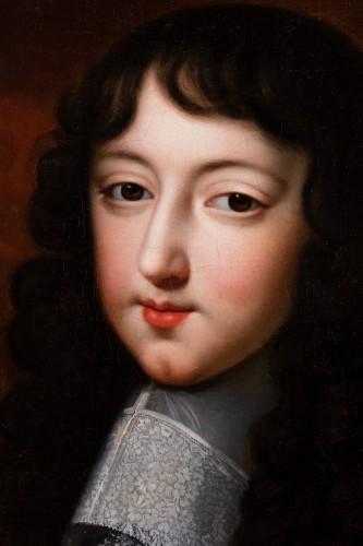 """Portrait of Philippe d'Orléans known as """"Monsieur"""". Jean Nocret & workshop (1615-1672) - Paintings & Drawings Style Louis XIV"""