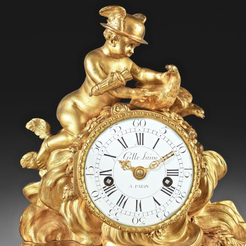 Clock Love messenger - Horology Style Louis XVI