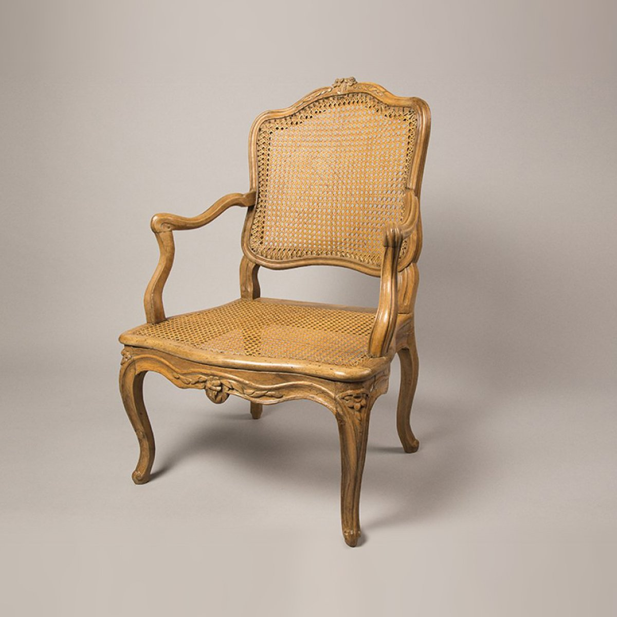 fauteuil cann louis xv xviiie si cle. Black Bedroom Furniture Sets. Home Design Ideas