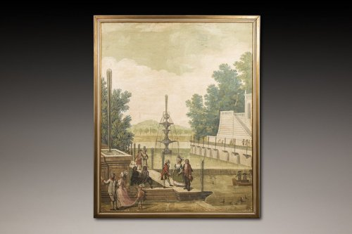 Paintings & Drawings  - French school of the late 18th century