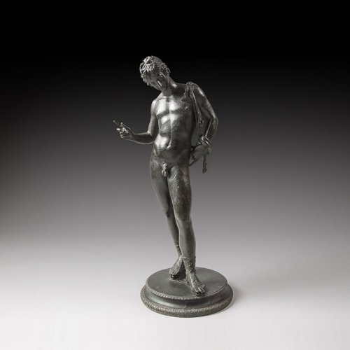 Adonis, Bronze figure of the mid 19th century