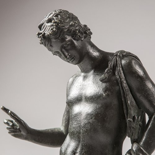 Adonis, Bronze figure of the mid 19th century  - Sculpture Style