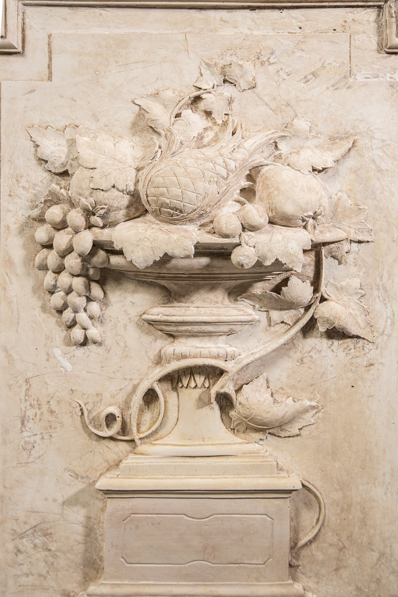 Bas reliefs en pl tre xixe for Objet platre deco