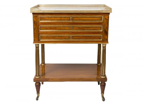 French 18th Century Table chiffonnière