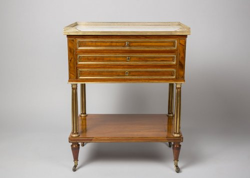 French 18th Century Table chiffonnière -