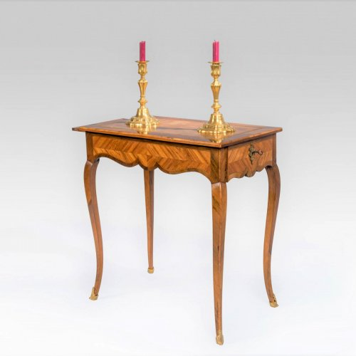 French Louis XV writing table