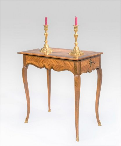 French Louis XV writing table -