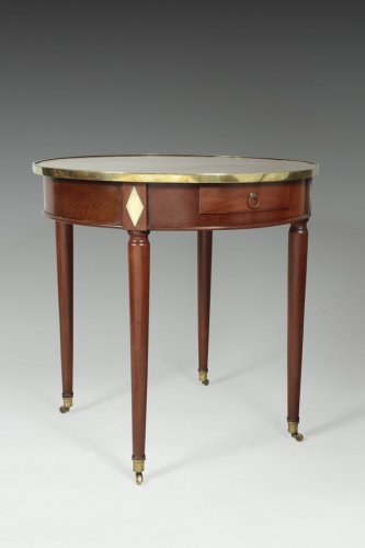 "Late 18th century mahogany ""bouillotte"" table - Louis XVI"