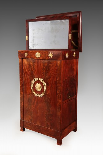 Furniture  - French mahogany Empire dressing table