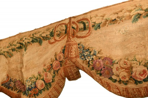 Pair of tapestry doors from Beauvais -