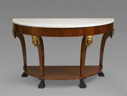 19th century - Mahogany console