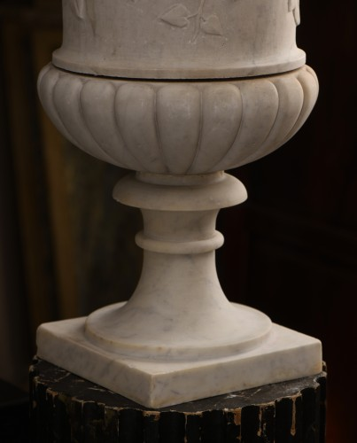 Early 19th century Medici marble vase - Decorative Objects Style Empire