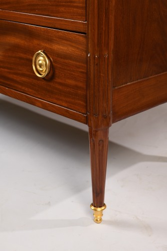 Furniture  - French Louis XVI Mahogany Commode stamped Georges Kintz
