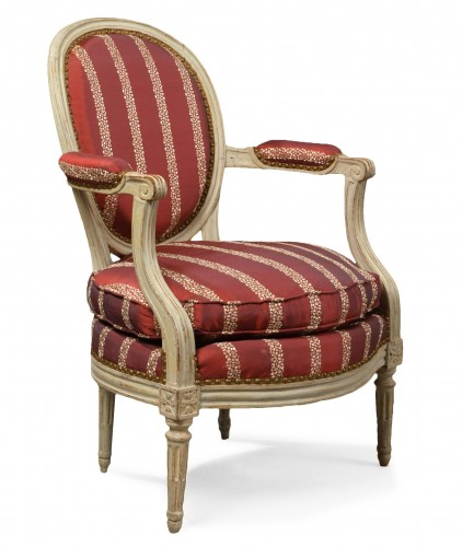 French Louis XVI fauteuil