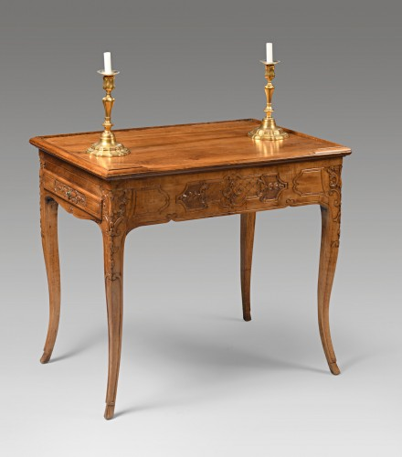 Louis XV tric trac table - Furniture Style Louis XV