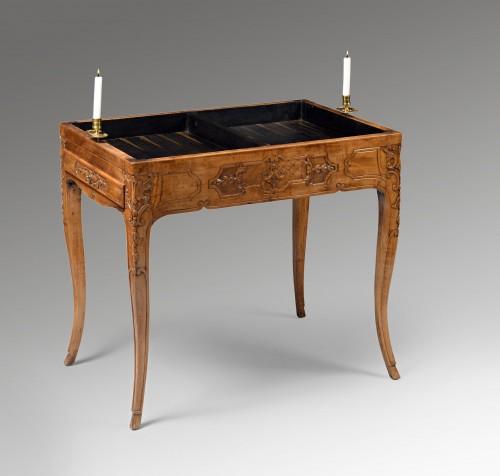 Furniture  - Louis XV tric trac table