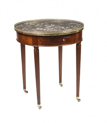 Louis XVI hot bouillotte table