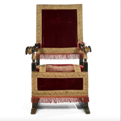 Formal armchair -