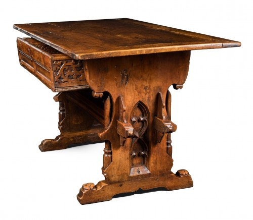 Rare Gothic Swiss-German table