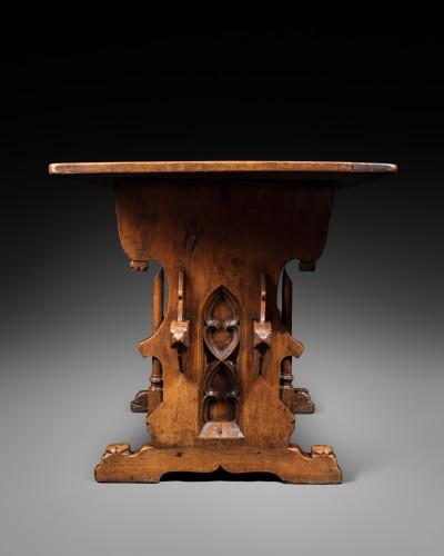 Furniture  - Rare Gothic Swiss-German table