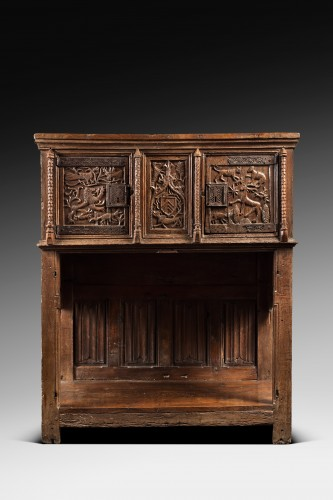 Furniture  - Rare Gothic Sideboard