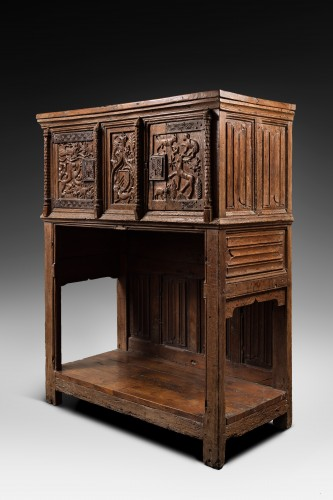 Rare Gothic Sideboard -