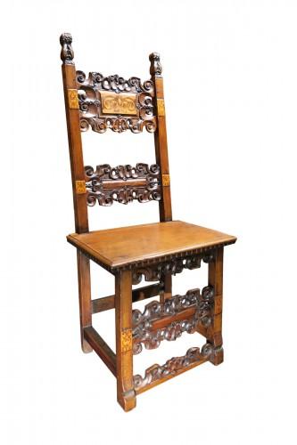 Italian chair of the Renaissance period