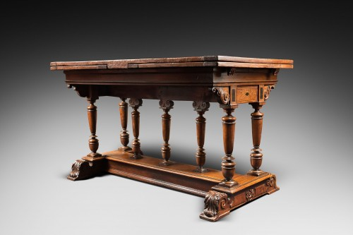 "French Renaissance formal table said ""à l'italienne"" - Furniture Style Renaissance"