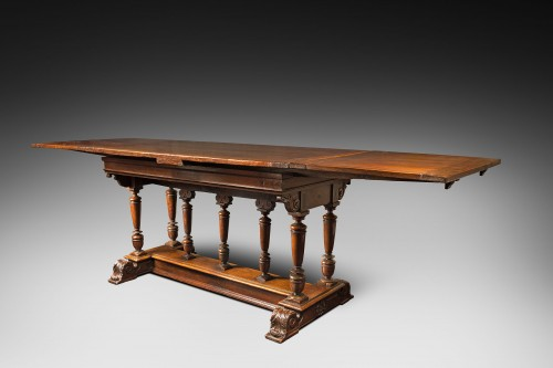 "Furniture  - French Renaissance formal table said ""à l'italienne"""