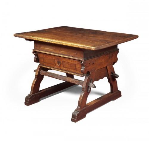 Swiss Renaissance banker table