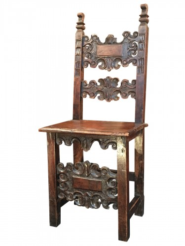 Italian chair of the Renaissance period