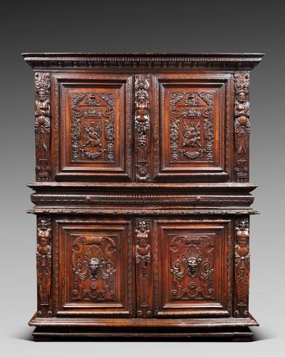 """French Renaissance """"meuble à deux corps"""" - Furniture Style Renaissance"""