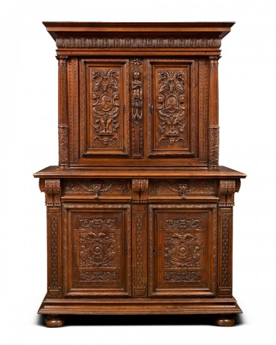 French Second Renaissance cupboard