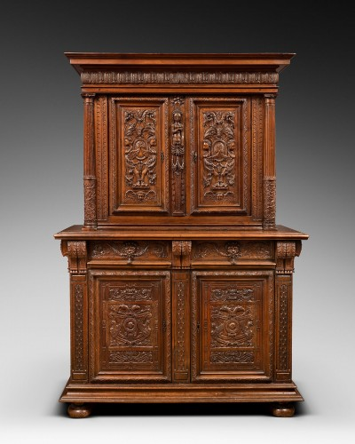 French Second Renaissance cupboard - Furniture Style Renaissance
