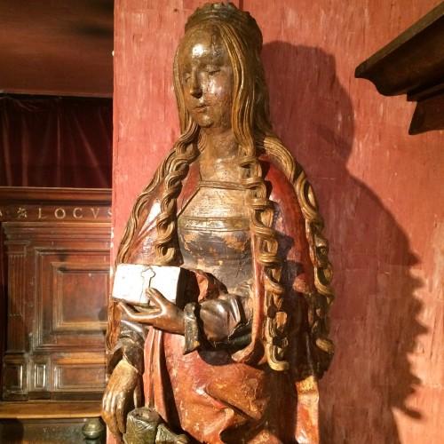 Sculpture  - Saint Catherine of Alexandria