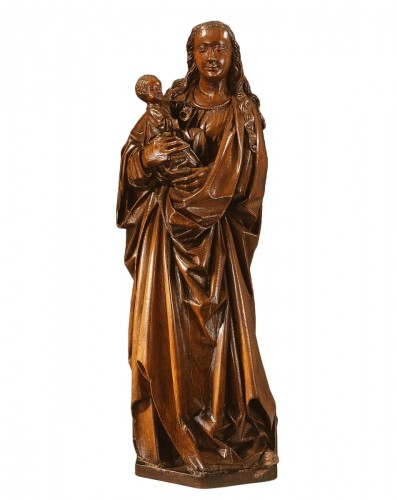 Gothic Virgin and Child