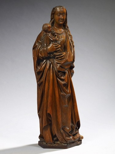 Gothic Virgin and Child -