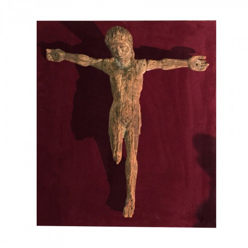 Rare 13th century Christ on the cross