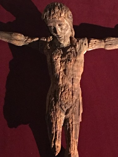 Religious Antiques  - Rare 13th century Christ on the cross