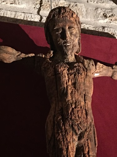 Rare 13th century Christ on the cross -