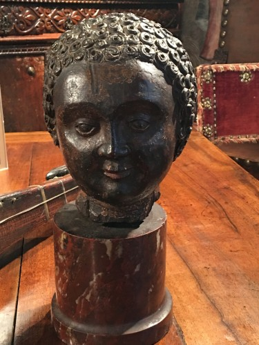Sculpture  - Renaissance head of a child