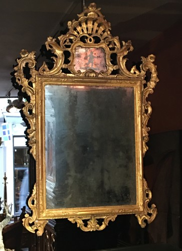 Large Venitian Mirror - Mirrors, Trumeau Style