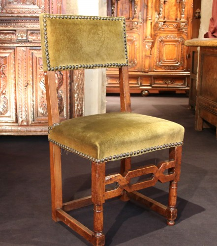 Seating  - Rare set of six Henri IV chairs