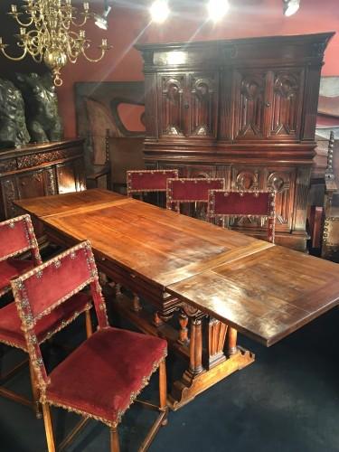 """French Second Renaissance table said """"à l'italienne"""" -"""