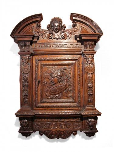 Renaissance armoirette frontage
