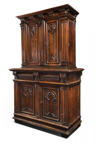 "Renaissance cabinet with perspectives ""trompe-l'oeil"""