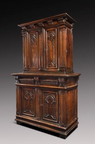 """Renaissance cabinet with perspectives """"trompe-l'oeil"""" - Furniture Style Renaissance"""