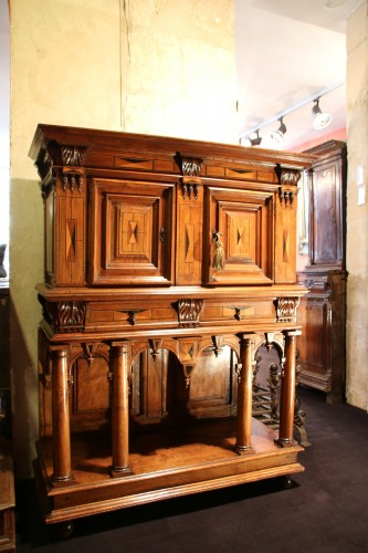 Renaissance - French Second Renaissance walnut dresser
