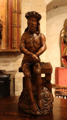 Religious Antiques  - Pensive Christ